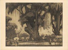 """PASSAR"" – JAN POORTENAAR ""PASSAR"" BY JAN CHRISTIAAN POORTENAAR (1886-1958) A beautiful etching by Jan Poortenar.Jan Christiaan Poortenaar is a Dutch graphic artist, graphic designer, painter, watercolorist, draftsman, engraver, lithographer, manufacturer of wood cuts, illustrator,..."