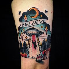 Matt Cooley - Electric Tattoos - Would never get this, but I do adore it.