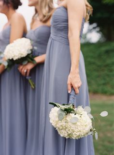Bridesmaid dresses: Bari Jay - Lauren & David | Traditional Wedding at Castle Hill, Oxford, Mississippi captured by Clark Brewer - via snippetandink