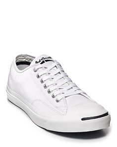Real Men Do...wear Converse Jack Purcell Leather Sneakers   Always a classic!