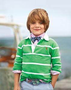 Cool and comfy for spring with Ralph Lauren Childrenswear