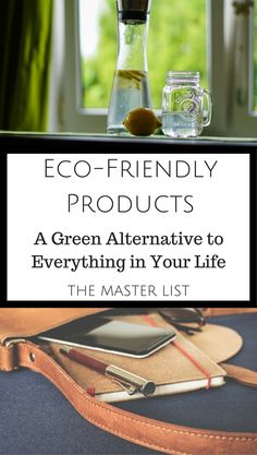 """""""Eco Friendly Products: A Green Alternative for Everything in Your Life"""" Natural Products, Eco Products, Sustainable Products, Green Products, Homemade Products, No Plastic, Going Natural, Green Life, Save The Planet"""