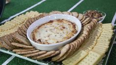 TODAY SHOW This creamy, cheesy dip is loaded with bacon and blue cheese