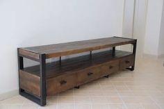 Mueble Para Tv / Lcd / Led Estilo Industrial - $ 9.999,00 Table Tv, Deco, Tv Unit, Inspiration, Furniture, Home, Storage, Storage Bench, Home Decor