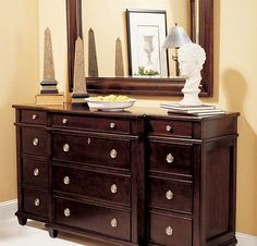 Lane Furniture Gramercy Park Breakfront Dresser