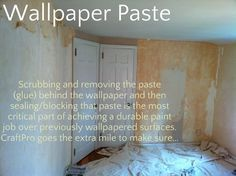 How to Remove Wallpaper the Easiest Way | Walls | Pinterest | Remove wallpaper and Walls
