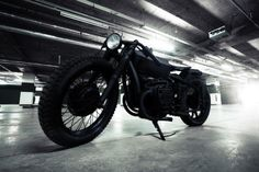 The Nero by Bandit 9 Motorcycles takes the classic BMW Chang Jiang 750 motorcycle to a whole new level.