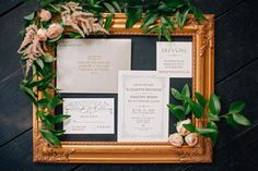 Blush and gold invitation suite styling #cedarwoodweddings Casually Classic Eclectic :: Libby+Tim | Cedarwood Weddings