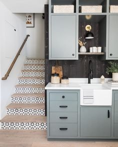 Home Remodel Color Scheme lovely blue grey kitchenette.Home Remodel Color Scheme lovely blue grey kitchenette Kitchenette, Cheap Bedroom Decor, House, Lake Arrowhead Cabin, Family Room, Home, Home Remodeling, House Interior, Manufactured Home