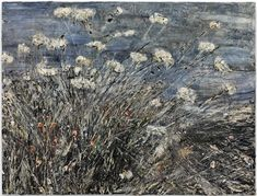 "Anselm Kiefer, ""Morgenthau Plan"" (2012), acrylic, emulsion, oil, and shellac on photograph mounted on canvas, 113 x 149 5/8 inches (© Anselm Kiefer, courtesy Gagosian Gallery, photography by Charles Duprat)"