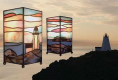Swallowtaill at Dawn by Earthglass Stained Glass Studio