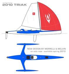 Triak Born To Sail The Ultimate Sailing Kayak Trimaran Sailing Kayak Boat Plans Kayak Boats