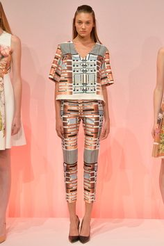 Clover Canyon Spring 2014 Ready-to-Wear Collection Slideshow on Style.com #colorblock