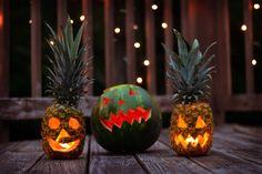 Halloween First Birthday, Halloween 2020, Fall Halloween, Diy Halloween Decorations, Halloween Treats, Halloween Pumpkins, Pineapple Halloween, Fall 1st Birthdays, Vintage Halloween Images