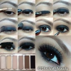 Smokey Pictorial using naked basics by urban decay