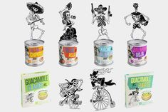 Packaging design for Garant Mexican Salsa by Bas