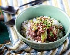 Yakinikudon (boeuf sauté à la sauce soja à la japonaise) (facile, rapide) - Une recette CuisineAZ