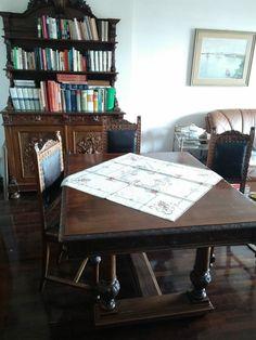 Antico TAVOLO allungabile in rovere con 6 sedie - Ancient Italian table + chairs   #invendita #Mobile #artigianato #Italian #sell #Ancient #table #chair #old #onasale