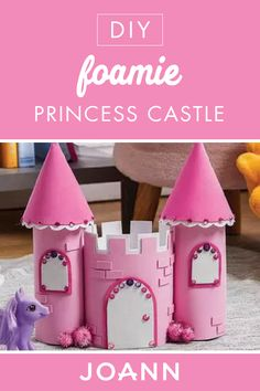 Kids Crafts - Craft Ideas for Kids Diy Crafts For Girls, Craft Projects For Kids, Toddler Crafts, Preschool Crafts, Diy For Kids, Fun Crafts, Activities For Kids, Paper Crafts, Castle Crafts
