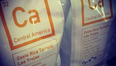 Beans from Costa Rica (walters coffee roastery)