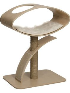 Vesper V-High Lounge Poplar Cat Furniture, Vesper Cat Furniture, Modern Cat Furniture, Sisal, High Lounge, Espace Design, Furniture Scratches, Scratching Post, Pet Supplies, Crates