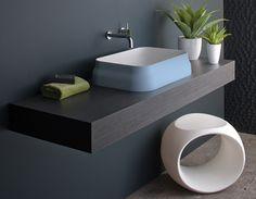 bathroom design - simple clean lines
