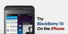 How To Get BlackBerry 10 OS On iPhone