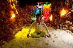 There's a healing salt cave sanctuary underneath Asheville