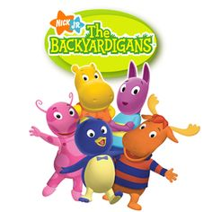 "Backyardigans - don't know What we'd do with out these guys!! ""mummy, can i go to backyardigans legoland?""... :)"