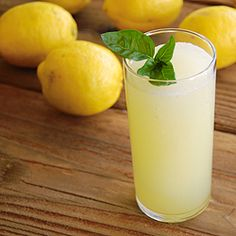 Perfectly Frozen Basil Lemonade is incredibly refreshing and easy to make.