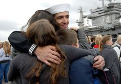 Welcome home, USS John C. Stennis!