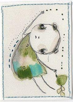 by Christina Romeo - such a unique artist