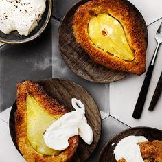 Helpot keikauskakkuset päärynöistä