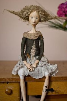 Handmade doll - isn't she darling?