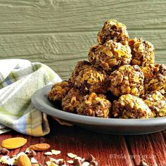 No Bake Peanut Butter Energy Bites by The Gardening Cook