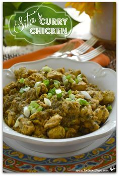 Sita's Curry Chicken Pinterest