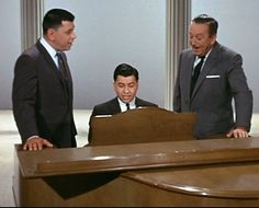 Walt Disney and the Sherman Brothers
