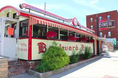 The Boulevard Diner on Shrewsbury Street