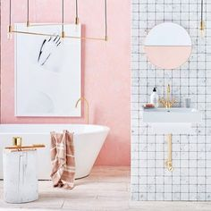 Modern Marvel - The Coolest Bathrooms On Insta - Photos