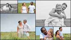 Fotoshoot op Ameland
