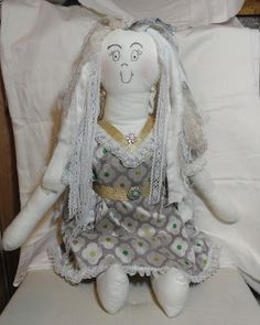 Crafty Loops: Hilary's Craft Competition 2015 - My Handmade Rag Doll Entry