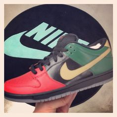 Nike SB Dunk Low Black History Month 2013 Theotis Beasley  Feb. 2013