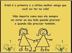 Irmãs pra toda vida! Amo D+!!! ❤❤❤