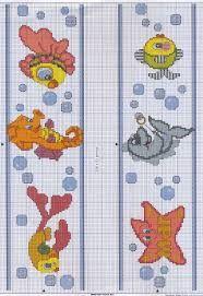 Resultado de imagen para mariposas en punto de cruz para baberos Butterfly Cross Stitch, Cross Stitch Baby, Cross Stitch Animals, Cross Stitch Charts, Disney Cross Stitch Patterns, Cross Stitch Designs, Crochet Fish, Water Animals, Cross Stitching