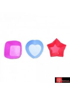 Buy Red Forest Silicone Pastry Mould Big 6Pc-545507 online at happyroar.com