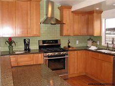 Shaker Beech Kitchen Cabinets