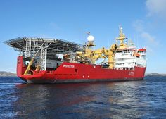 Ice Patrol Vessel HMS Protector in the Antarctic by Defence Images, via Flickr