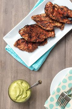 Blackened Chicken with Creamy Avocado Sauce | Nourished NYC