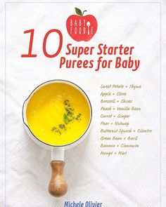 10 Super Starter Purees for Baby