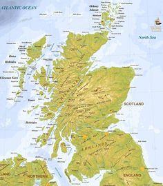 Whiskyboden: Bra karta över alla destillerier på Skottland!